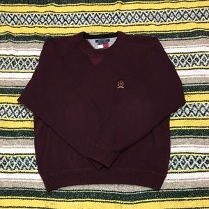 Vintage tommy hilfiger chunky sweater